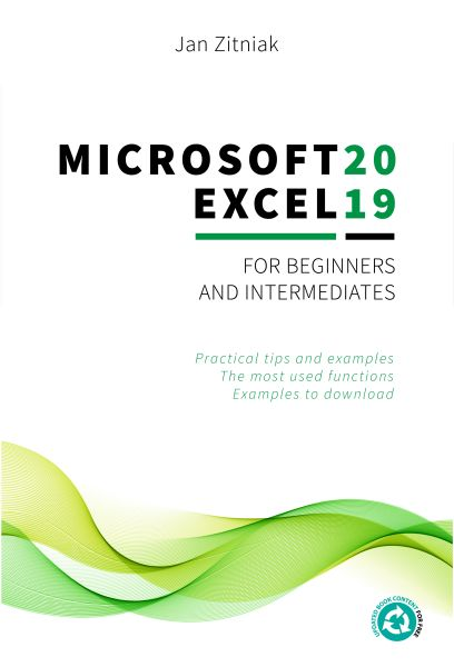 book microsoft excel 2019 for beginners and intermediates by jan zitniak for web